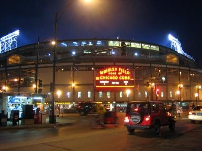 Image of Wrigley Field Stadium in Chicago