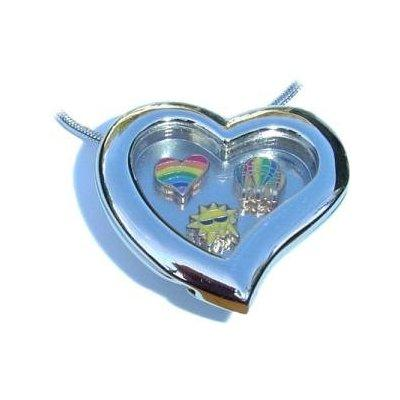 Charms for heart and soul lockets are available at Amazon.com