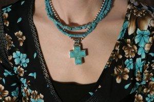 Turquoise Wheel Beads