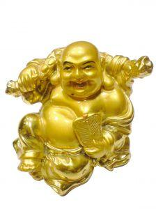 Gold Buddha, another unusual charm