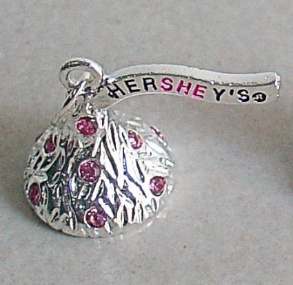 Hershey' Kiss charm from Hope Paige Designs