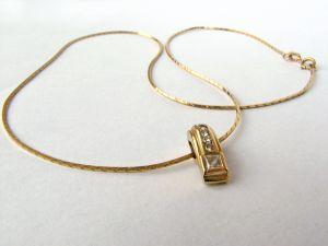 Clear Crystal Gold Necklace Sets