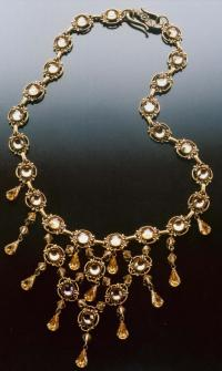 Byrd Designs Queen Marie Necklace