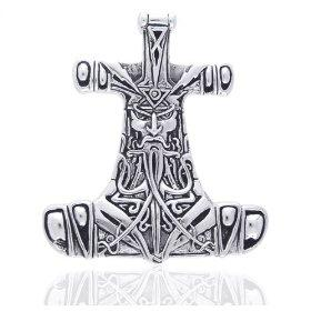 Thors hammer pendant lovetoknow about thor and thors hammer mozeypictures Gallery