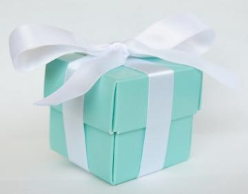 tiffany colored box