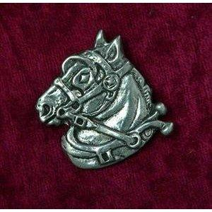 draft horse pin