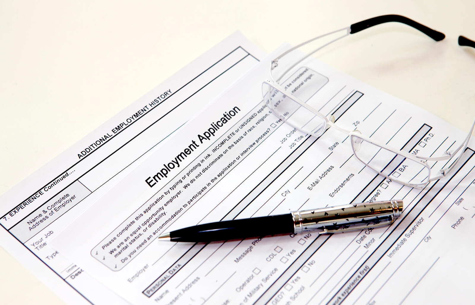 Blank Employment Application