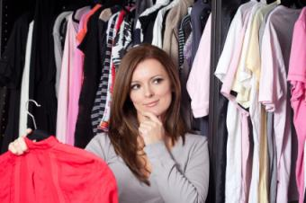 Picking out clothes