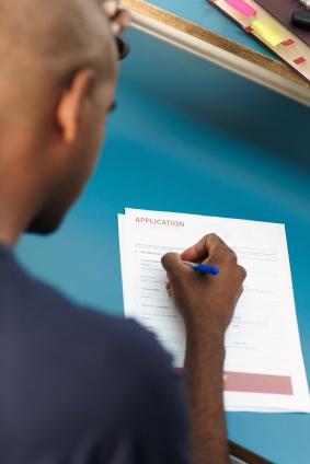 Ex-convict applying for a job