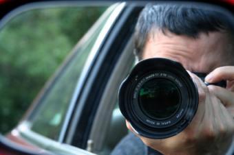 agent conducting surveillance