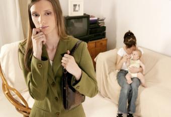mother nervous about nanny
