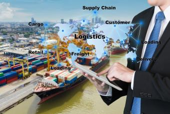 logistic network distribution of goods