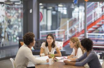 Advertising agency informal meeting