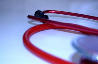 Image of an anesthesiologist's stethoscope