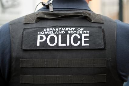homeland security officer
