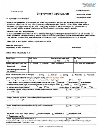 blank employment application form koni polycode co