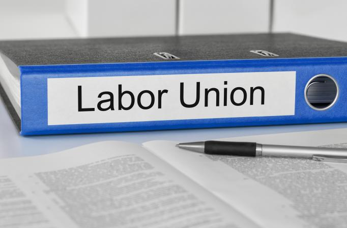 Labor union binder