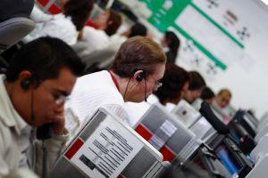 Call centers often utilize outsourcing.