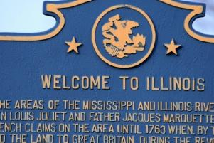 Image of Welcome to Illinois sign
