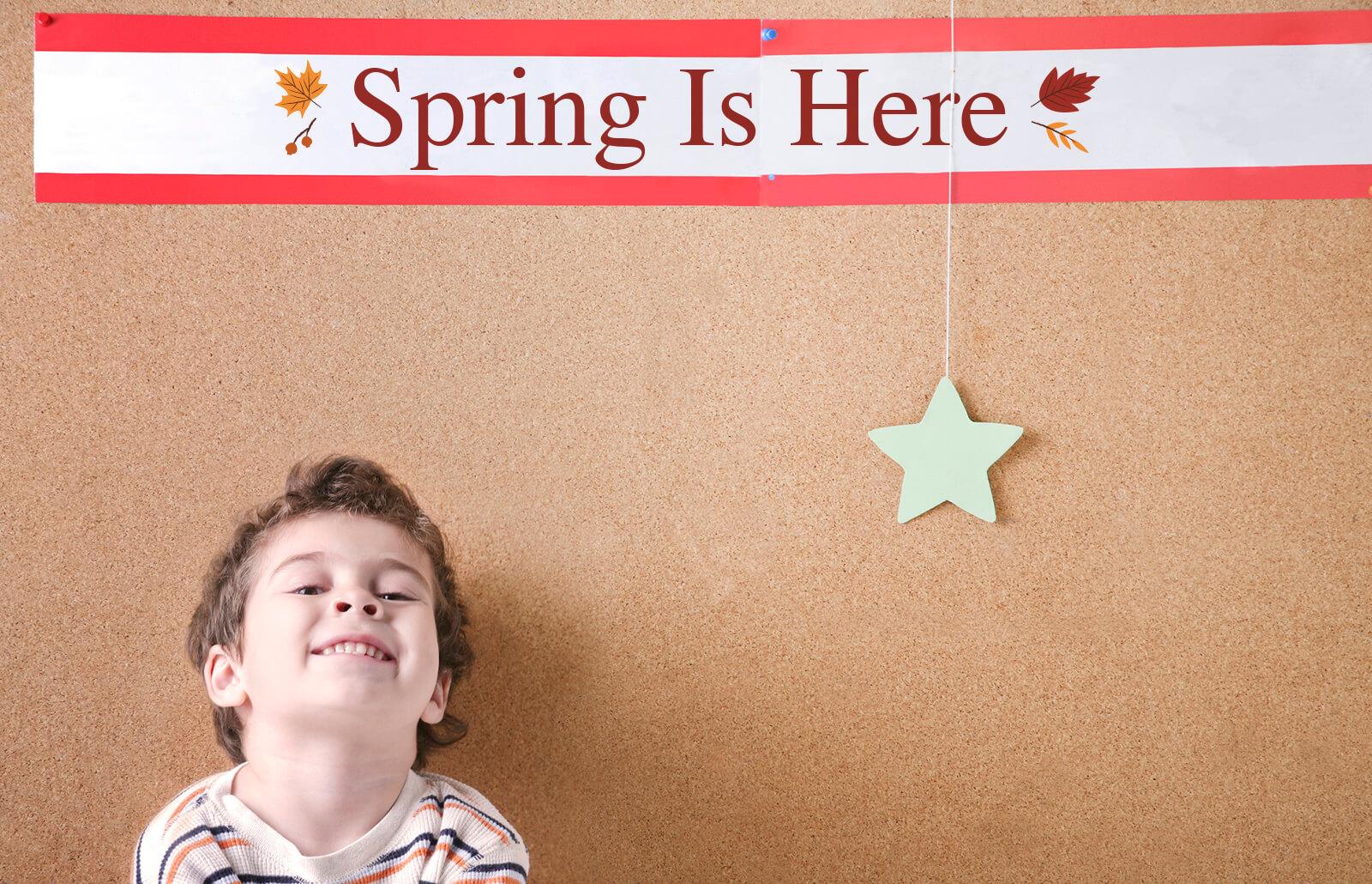 Spring Ideas For Preschool Children To Put On A Bulletin Board Lovetoknow