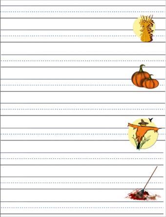 fall worksheet