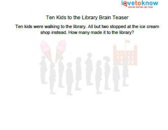 library brain teaser