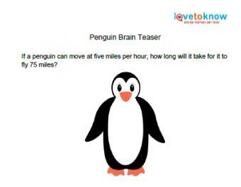penguin brain teaser