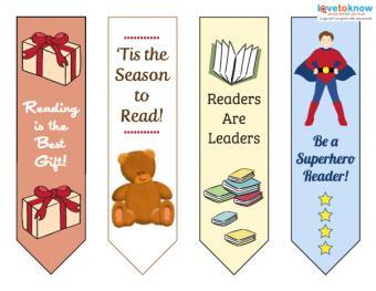Bookmarks for kids printable