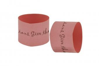 Paper Napkin Rings