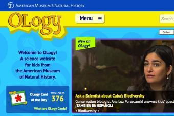 Screenshot of Ology