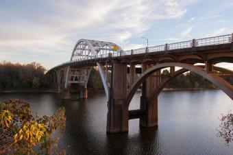 Edmund Pettus Bridge, Selma, Alabama, USA