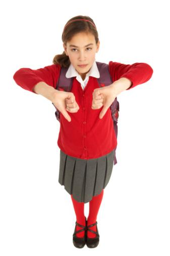 Student In Uniform