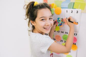 Printable Calendar for Kids