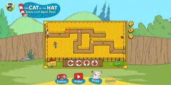 Cat in the Hat:Corn Maze Craze game