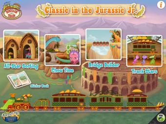 Dinosaur Train Jurassic Jr.Game