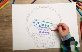 Kids' Easter Coloring Pages