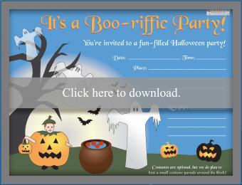Kids' Halloween Party Invitation
