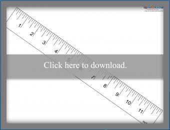 Inch Ruler Printable