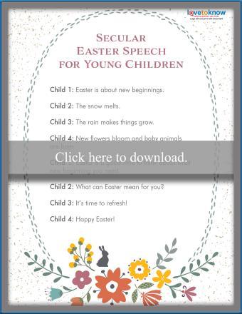 secular speech