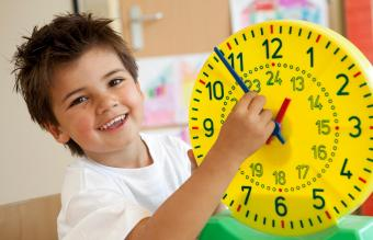 Clock Face for Telling Time