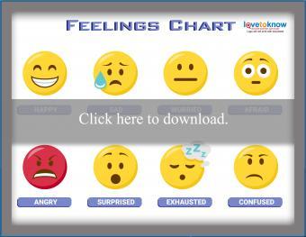 Feeling Chart for Older Kids