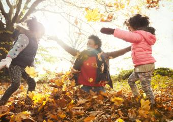 Outdoor Fall Games and Activities for Children