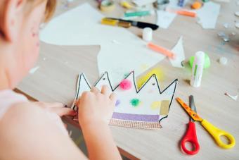 Project of children's creativity, handicrafts, crafts for kids.
