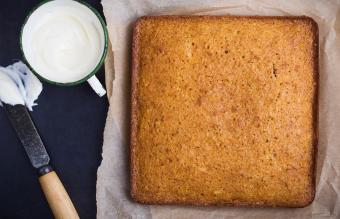 Pumpkin or Spice Snack Cake
