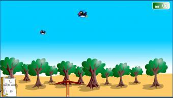 Screenshot of Big Bird Hunting Game
