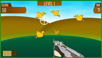 Screenshot of Duck Shoot Game
