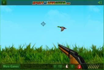 Screenshot of The Duck Hunter Game