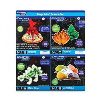Discovery Kids Mega 4-in-1 Science Set