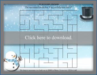 Winter maze