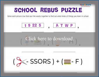 School Rebus Puzzle